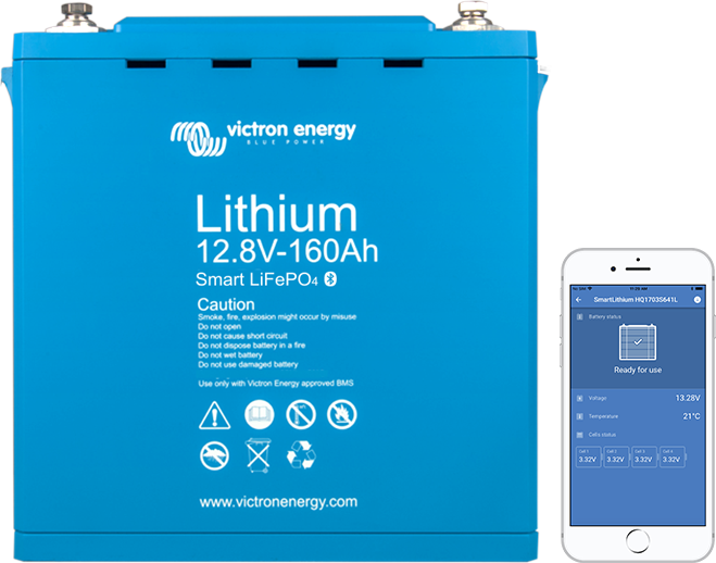 Lithium battery 12,8V Smart