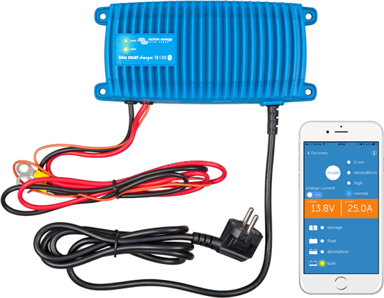 Blue Smart IP67 Charger Waterproof